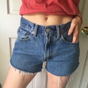 Vintage Levi's Cut Off Shorts Levi Cut Offs